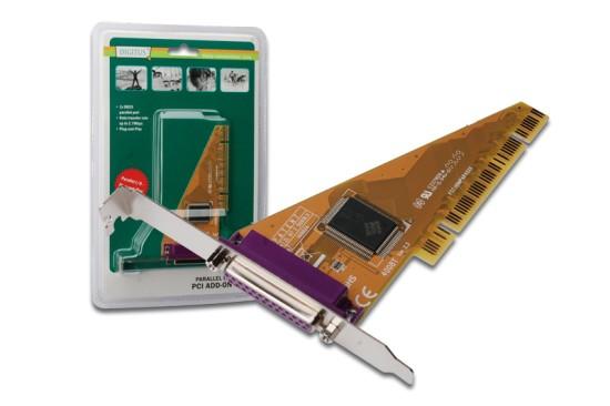 Digitus adaptér PCI 1x paralelní, DS-33010-1