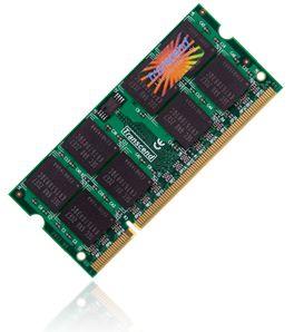 Transcend SODIMM DDR2 2GB 667MHz CL5 TS256MSQ64V6U, TS256MSQ64V6U