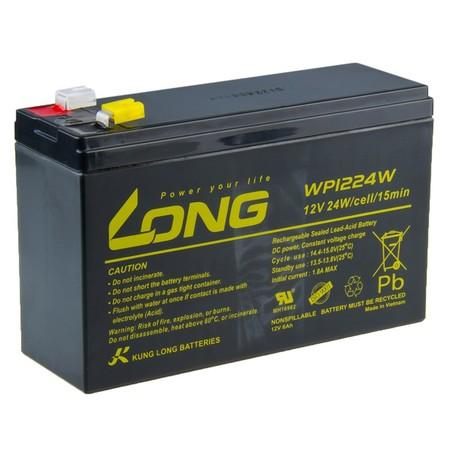 Long 12V/6Ah HighRate F2 (WP1224W)