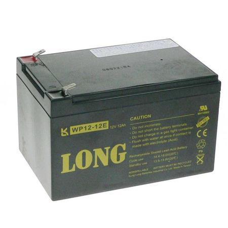 Long 12V/12Ah DeepCycle AGM F2 (WP12-12E)