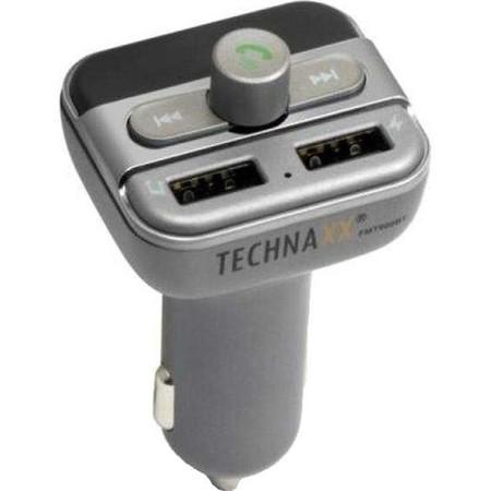 FM transmitter Technaxx FMT900BT, šedý