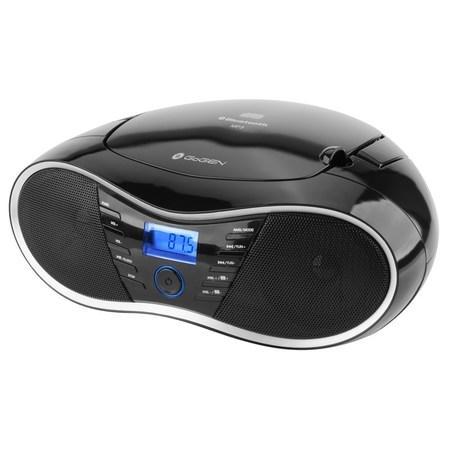 Radiopřijímač GoGEN CDM 388 SUBT S s CD/MP3/USB/SD/BT, černá