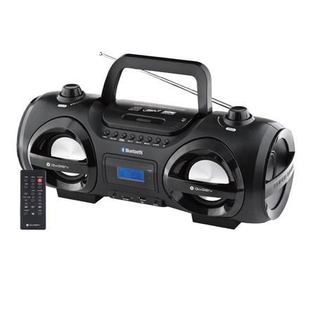 Radiopřijímač GoGEN CDM 425 SUBT s CD/MP3/USB/SD/BT, černá/stříbrná