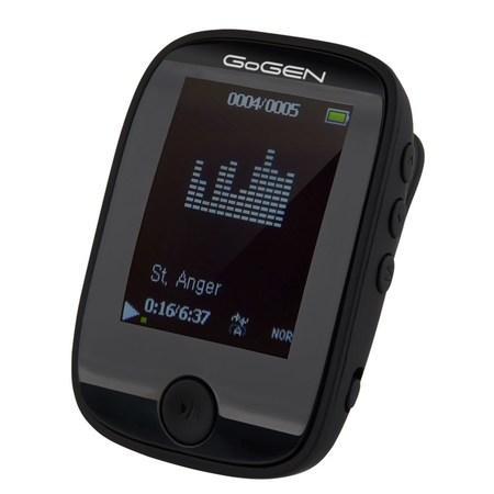 """MP3/MP4 přehrávač GoGEN MXM 421 GB4 BT B, s 1,7"""" displejem a bluetooth, černý"""