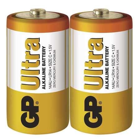 Baterie GP Ultra Alkaline C 2ks