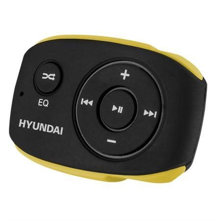 MP3 přehrávač Hyundai MP 312, 4GB, černo/žlutá barva