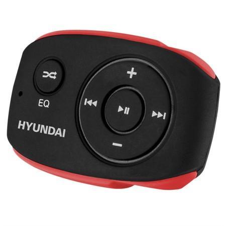 MP3 přehrávač Hyundai MP 312, 8GB, černo/červená barva