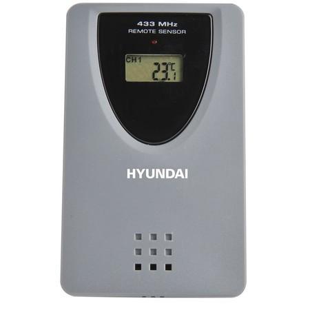Čidlo Hyundai WS Senzor 77 TH, k meteostanicím Hyundai, šedé,
