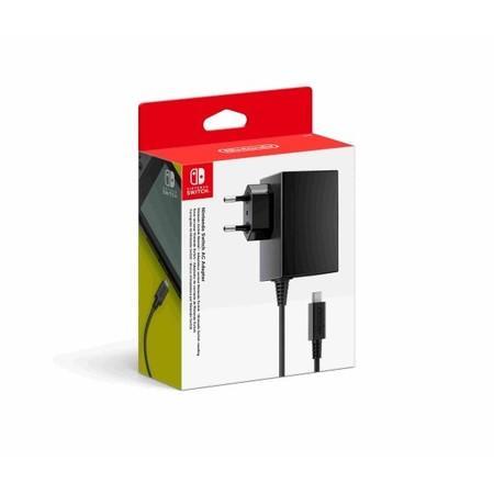 Adaptér Nintendo Switch AC Adapter - černé
