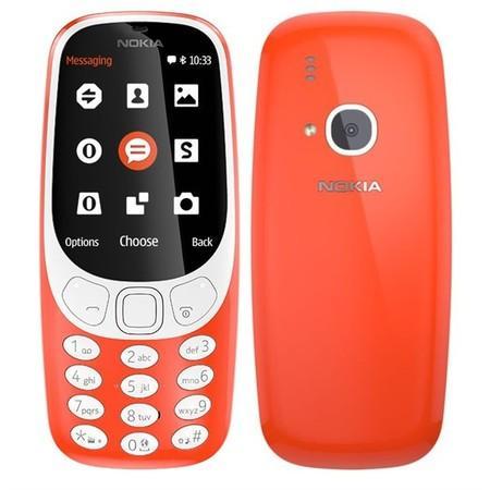 Nokia 3310 Dual SIM červená
