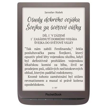 Čtečka e-knih Pocket Book 740 Inkpad 3 - hnědá, PB740-X-WW