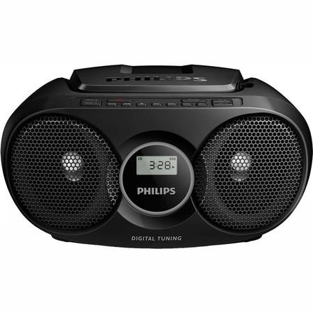 Radiopřijímač s CD Philips AZ215B, černý