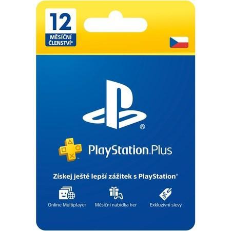 Předplacená karta Sony PlayStation Plus Card 365 dní