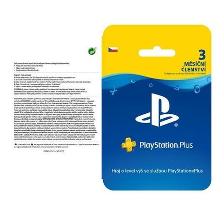 SONY PS Plus card 90 dní