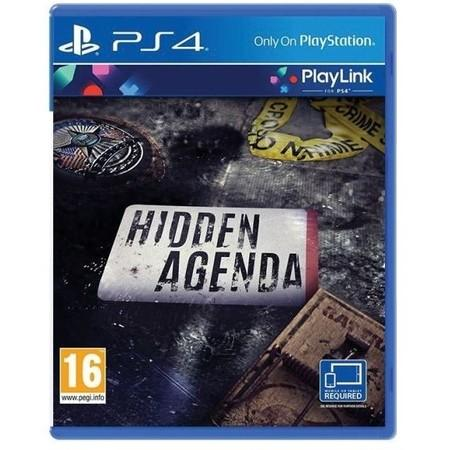 SONY Hidden Agenda hra PS4
