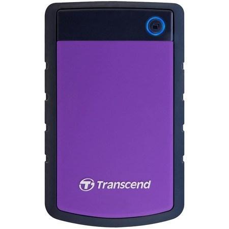 """HDD ext. 2,5"""" Transcend StoreJet 25H3P 1TB - černý/fialový,"""