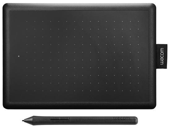 Tablet Wacom One By Small - černý/červený,