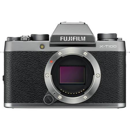 Fujifilm X-T100 - 24,2MP - Silver