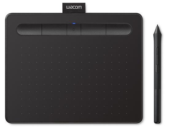 Tablet Wacom Intuos S Bluetooth - černý, CTL-4100WLK
