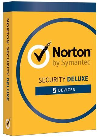 NORTON SECURITY DELUXE CZ 1 uživatel na 5 zařízení na 3 roky, 21384874