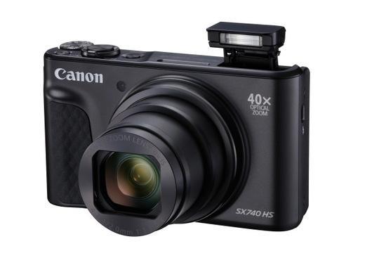 Canon PowerShot SX740HS, Black, TRAVEL KIT