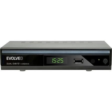 DVB-T/T2 přijímač Evolveo Gamma T2 Dual