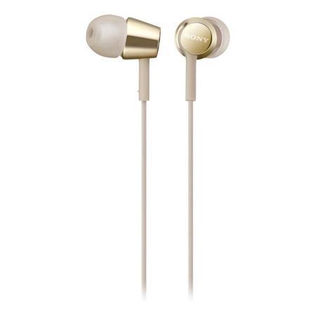 Sluchátka Sony MDR-EX155APN - zlatá
