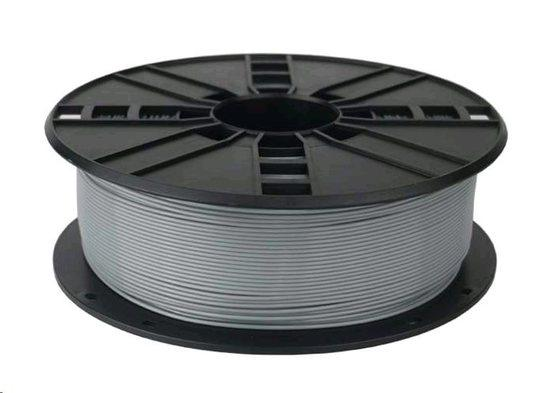 GEMBIRD Tisková struna (filament), PETG, 1,75mm, 1kg, šedá, TIF056160