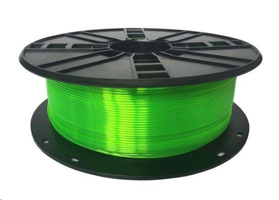 GEMBIRD Tisková struna (filament), PETG, 1,75mm, 1kg, zelená, TIF056140