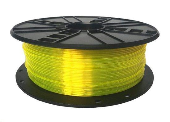 Tisková struna (filament) GEMBIRD, PETG, 1,75mm, 1kg, žlutá 3DP-PETG1.75-01-Y, TIF0561G0