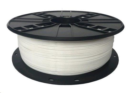 Tisková struna (filament) GEMBIRD, PETG, 1,75mm, 1kg, bílá 3DP-PETG1.75-01-W, TIF0561F0
