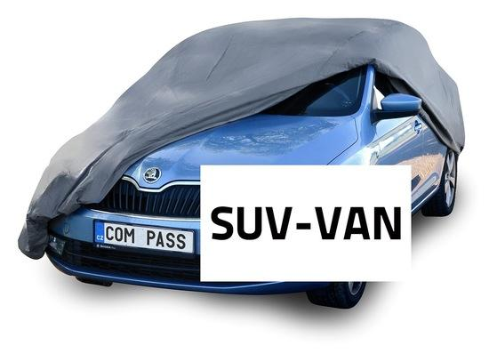 Voděodolná ochranná autoplachta FULL SUV-VAN 515x195x142cm