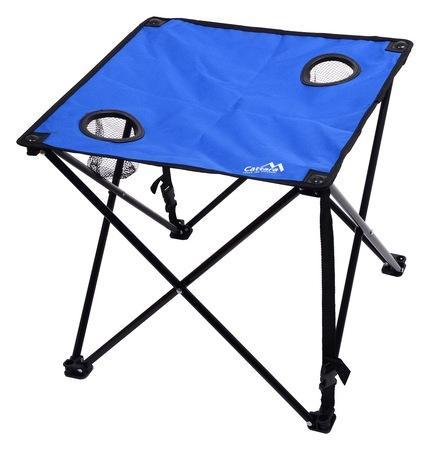 Fotografie Stůl kempingový skládací LISBOA modrý CATTARA