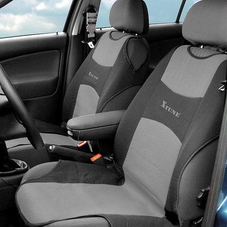 Autopotah Compass TRIKO přední 2ks tmavě šedý