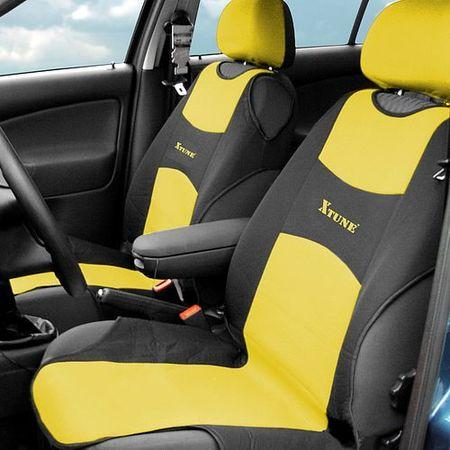 Autopotah Compass TRIKO přední 2ks žlutý