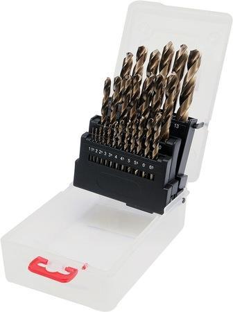 Sada vrtáků na kov 25ks HSS-COBALT 1-13mm