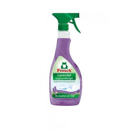 """Hygienický čistič """"Levandule"""", s rozprašovačem, 500 ml, EKO, FROSCH"""
