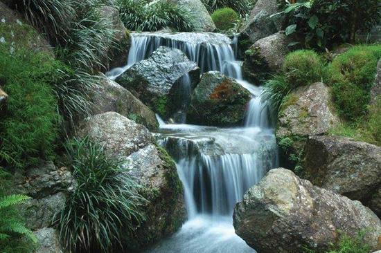 """Podložka pod myš, recyklovaná, FELLOWES """"Earth Series"""", vodopády"""