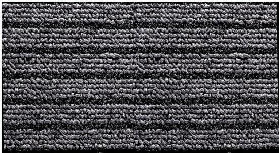 "Rohožka ""Normad Aqua"", šedo-černá, 0,6 x 0,9 m, 3M"