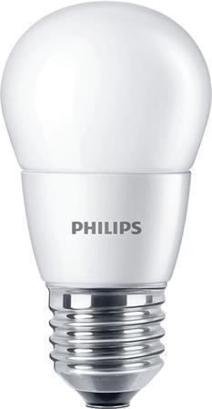 Philips LED žárovka E27 P48 7W 60W teplá bílá 2700K