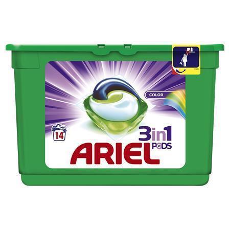 """Kapsle na praní """"Color&Style"""", 14 ks, ARIEL, bal. 14 ks"""