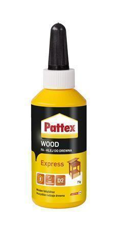 "Lepidlo na dřevo ""Pattex Wood"", tekuté, 75 g, HENKEL"