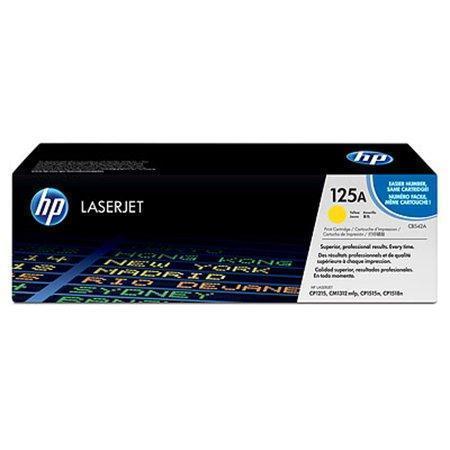 HP CB542A Toner 125A pro CLJ CP1215, 1515 (1400str), Yellow, CB542A