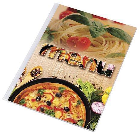 """Desky na jídelní lístek """"Pizza"""", motiv pizza-těstoviny, A4, PANTA PLAST"""