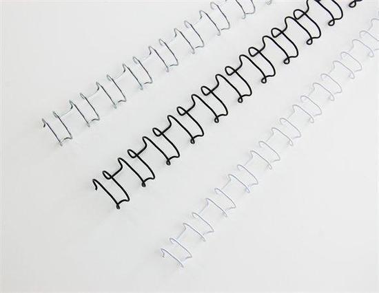 """Hřbet """"MultiBind 21"""", bílá, drátový, 6 mm, 70 listů, GBC, box 100 ks"""