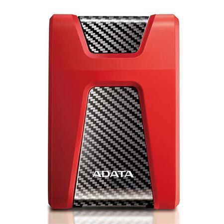 "HDD ext. 2,5"" ADATA HD650 2TB - červený, AHD650-2TU31-CRD"