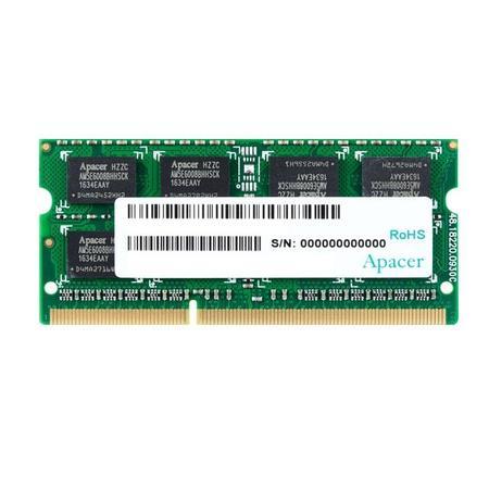 Apacer DDR3 4GB 1600MHz CL11 SODIMM 1.5V, DS.04G2K.HAM