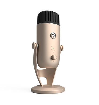 Arozzi Colonna Pro stolní mikrofon, zlatý, COLONNA-GOLD