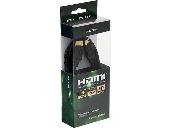BLOW CLASSIC kabel HDMI-HDMI 1.5m