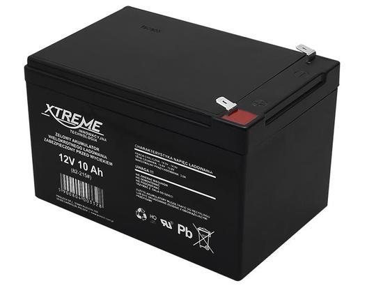 XTREME Nabíjecí gelová baterie 12V 10Ah, 82-215#